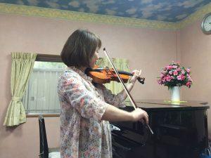 ヘッダー用バイオリン